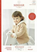 Sirdar Snuggly Bunny Fur Effect Knitting Pattern - 5305 Hooded Jackets